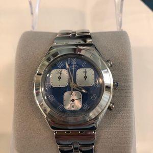 NWOT Men's Swatch Watch in original box.
